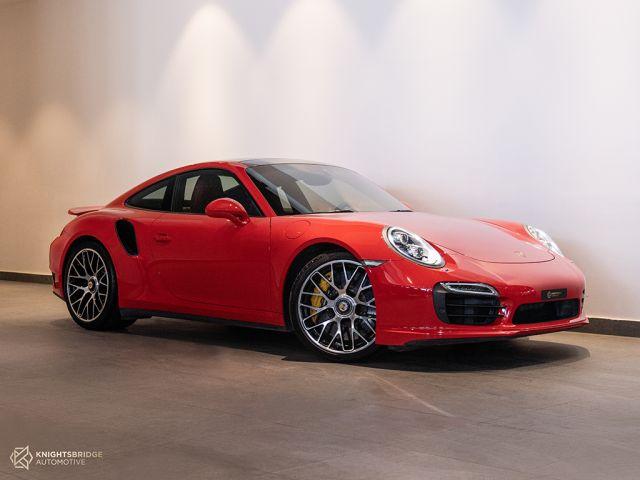 Perfect Condition 2014 Porsche 911 Turbo S at Knightsbridge Automotive