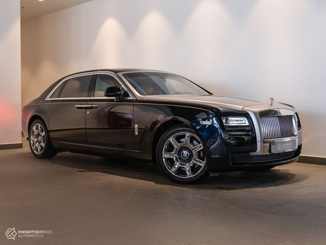 Perfect Condition 2014 Rolls-Royce Ghost Blue exterior with Brown interior at Knightsbridge Automotive