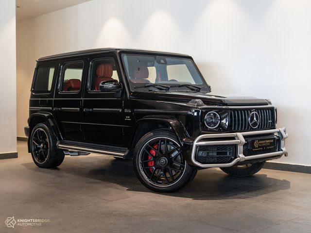 Perfect Condition 2020 Mercedes-Benz G63 AMG Black exterior with Red interior at Knightsbridge Automotive