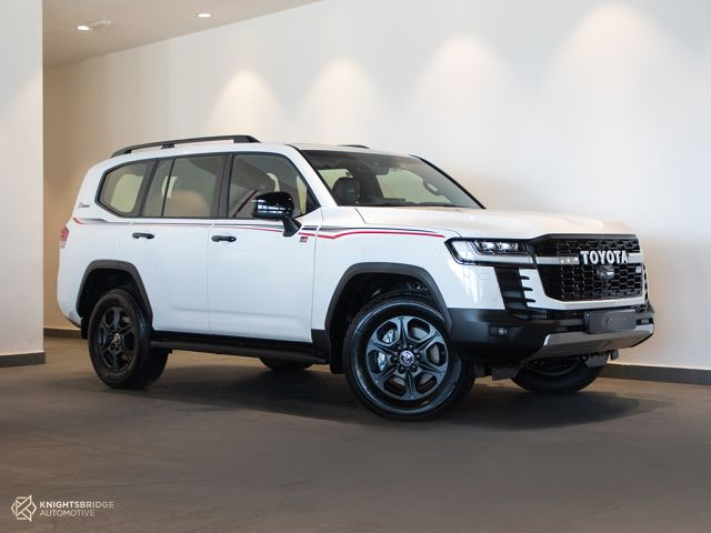 New 2022 Toyota Land Cruiser GR Sport Twin Turbo at Knightsbridge Automotive